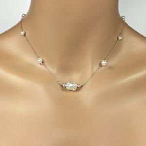 Vintage Look Bridal Necklace