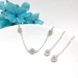 Sparkly Rhinestone Prom Jewelry Jewelry
