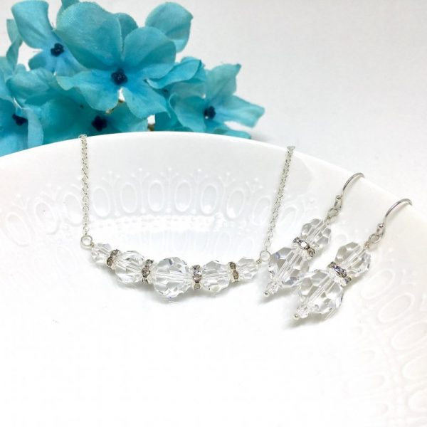 Crystal Bridal Jewelry Set