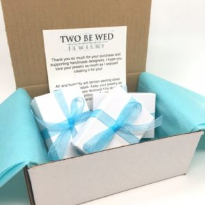 Two Be Wed Jewelry Packaging