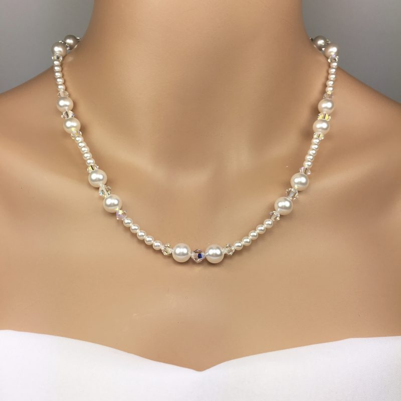 Mother of the Bride Jewelry Pearl Necklace