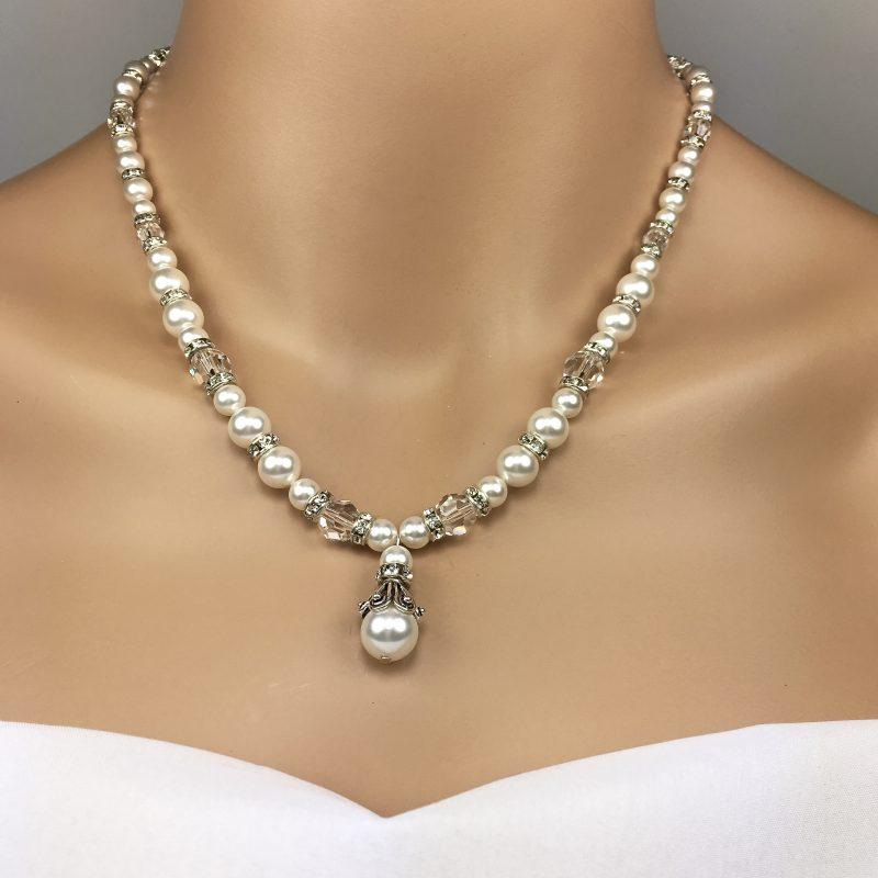 Vintage Pearl Statement Bridal Jewelry