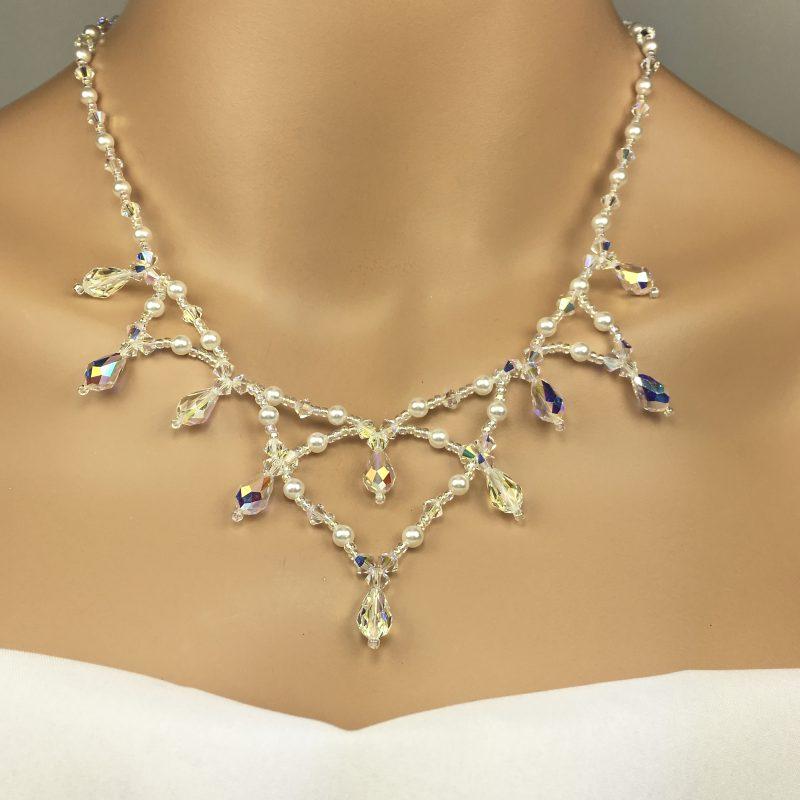 Princess Style Wedding Necklace