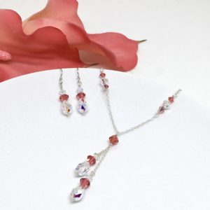 Coral Prom Necklace
