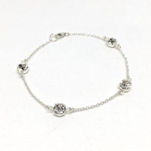 Solitaire Crystal Bracelet