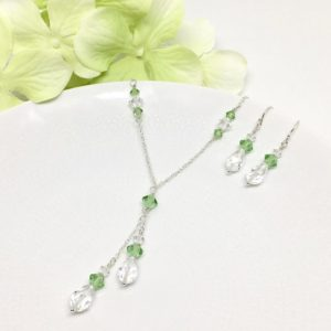 Green Bridesmaid Jewelry