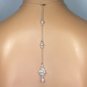 Cluster Pearl Backdrop Necklace Attachment