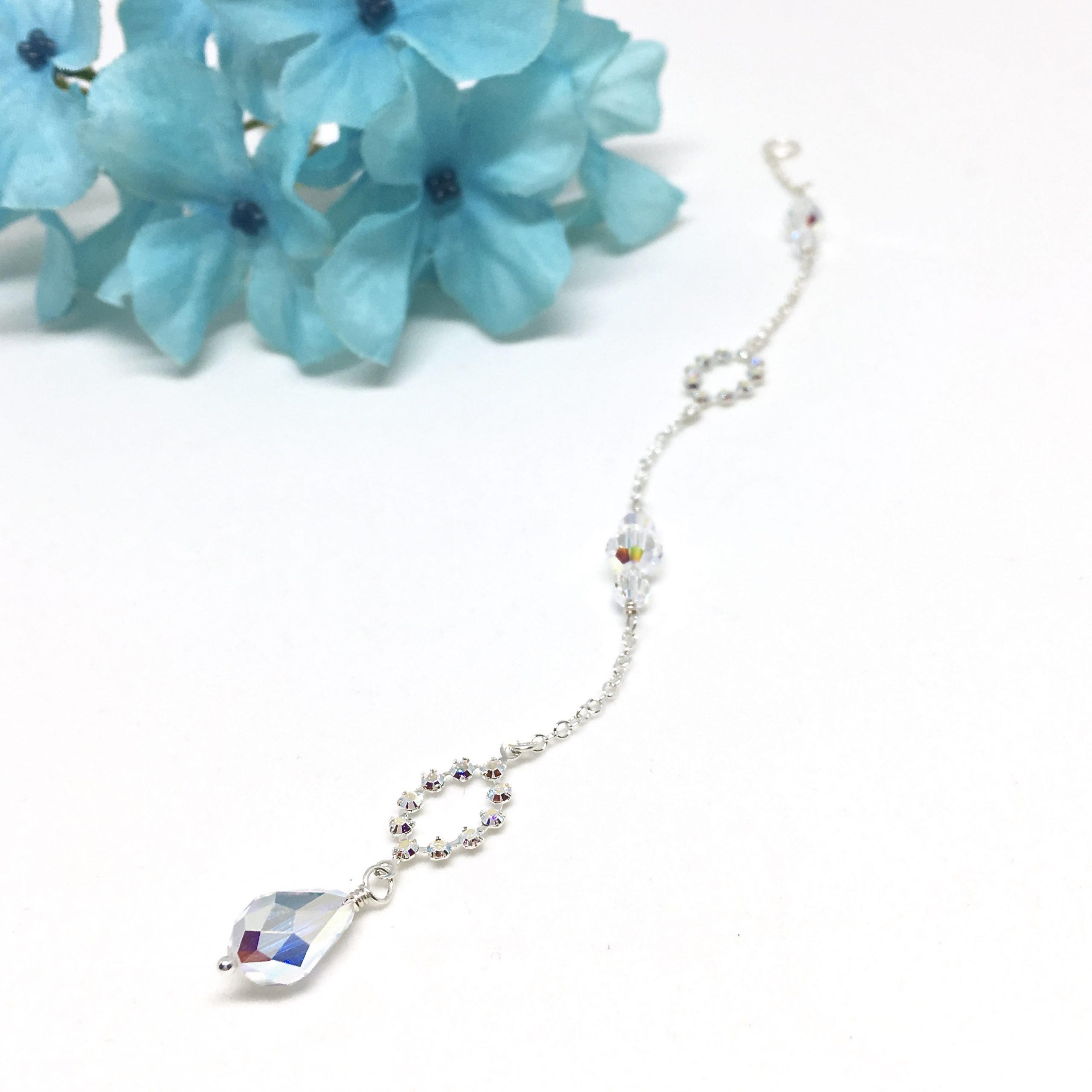 Back Drape Necklace Bridal Jewelry
