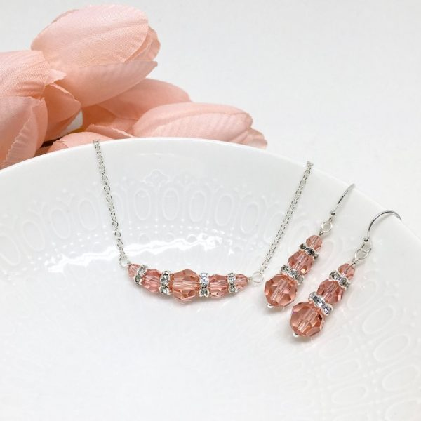 Salmon Colored Jewelry