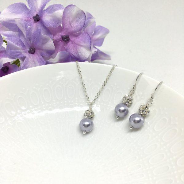 Wisteria Jewelry Swarovski Pearl Sterling Silver
