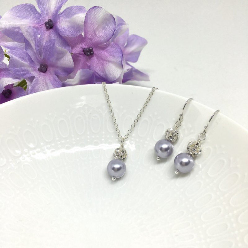Wisteria Bridesmaid Jewelry