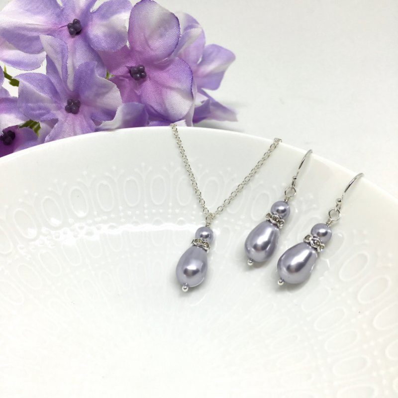 Iris Bridesmaid Jewelry