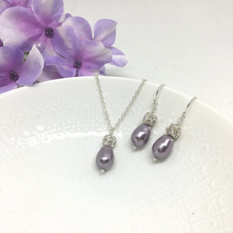 Orchid Bridesmaid Jewelry
