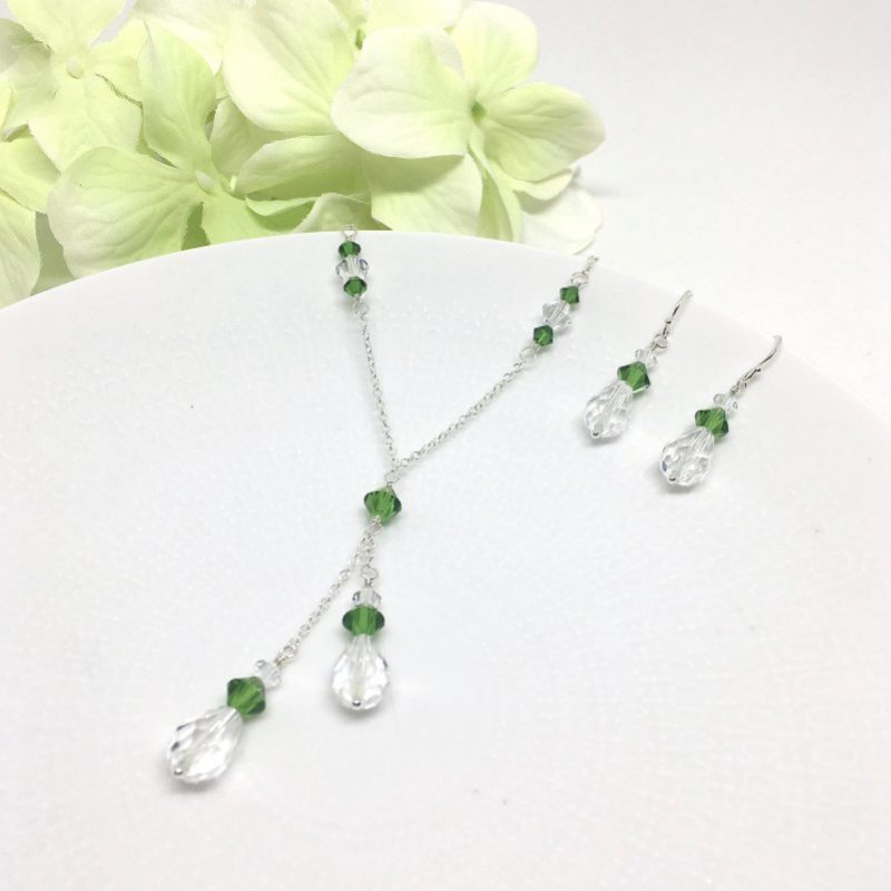 Fern Green Bridesmaid Jewelry