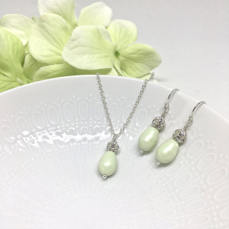 Mint Green Bridesmaid Jewelry
