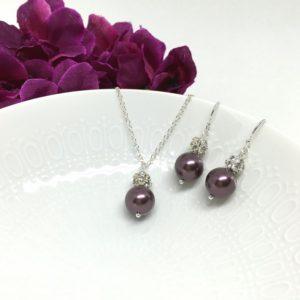 Mulberry Bridesmaid Jewelry