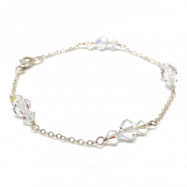 Swarovski crystal prom Bracelet