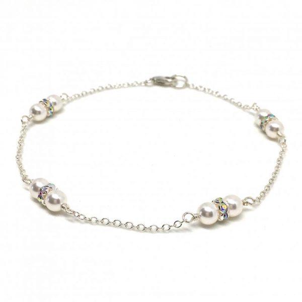 Double Pearl Bridal Bracelet