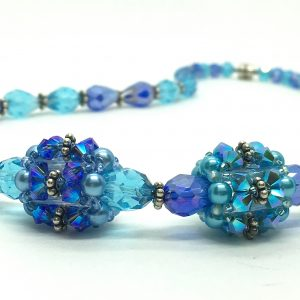 Blue Formal Jewelry Set Mother of the Bride Jewelry