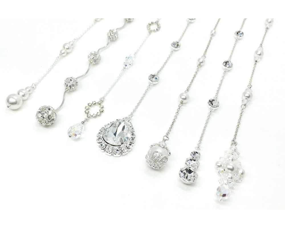 Back Necklaces Attachments For Bridal Jewelry
