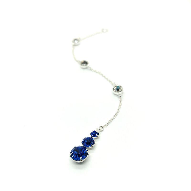Blue Sapphire Wedding Necklace Backdrop Attachment
