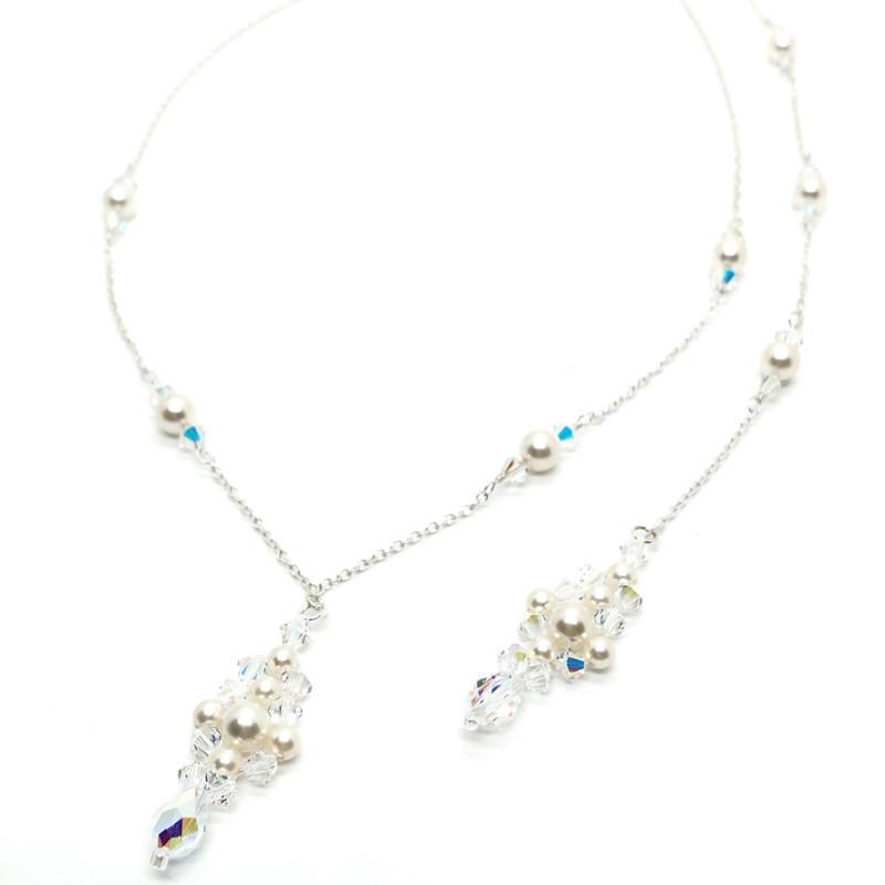 Bridal Backdrop Necklaces