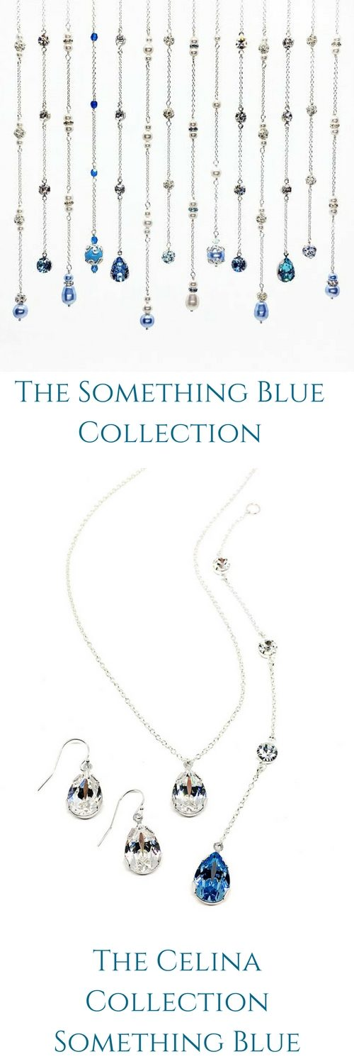 Two Be Wed Jewelry The Something Blue Collection Pear Shaped Wedding Jewelry